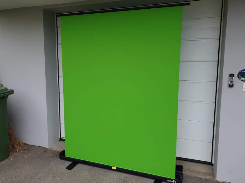 18368 Green Screen Hintergrund ChromaKey
