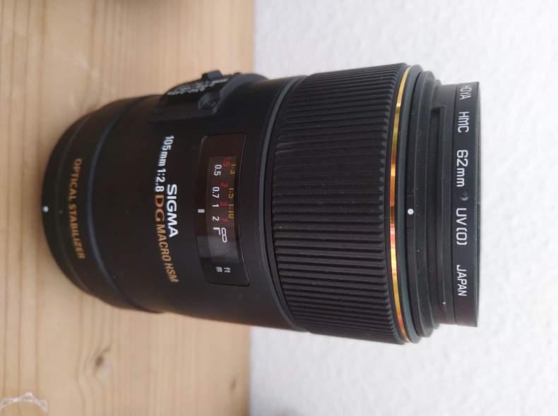18395 Sigma 105mm Macro f2.8 for Nikon