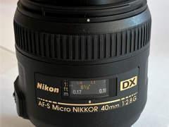 18542 Nikon Makro Objektiv