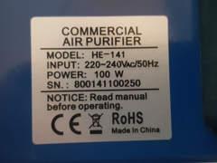 18665 Ozon Generator / Ionisator