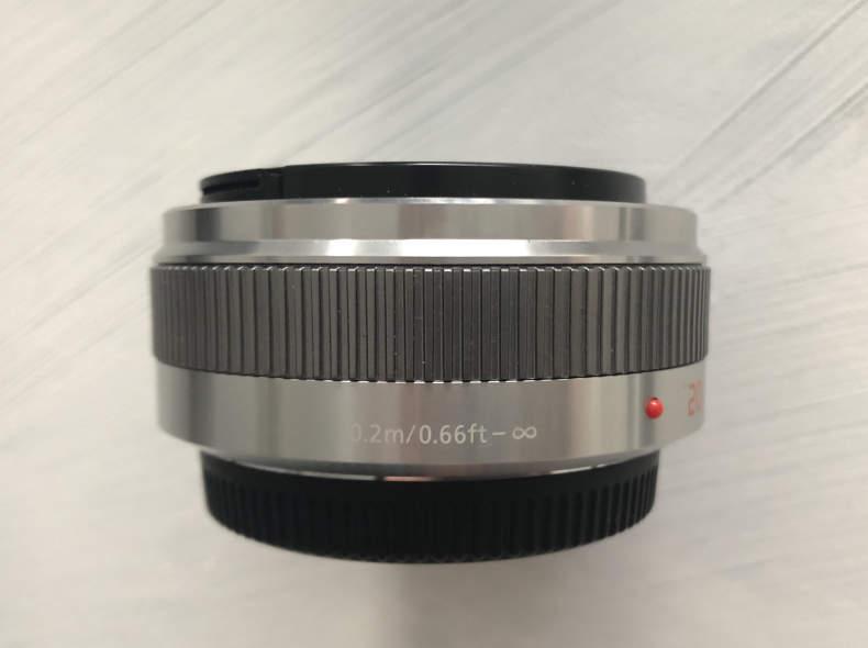 18790 Panasonic LUMIX 20mm F/1,7 G II Asp