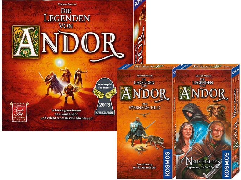 18975 Brettspiel - Die Legenden von Andor