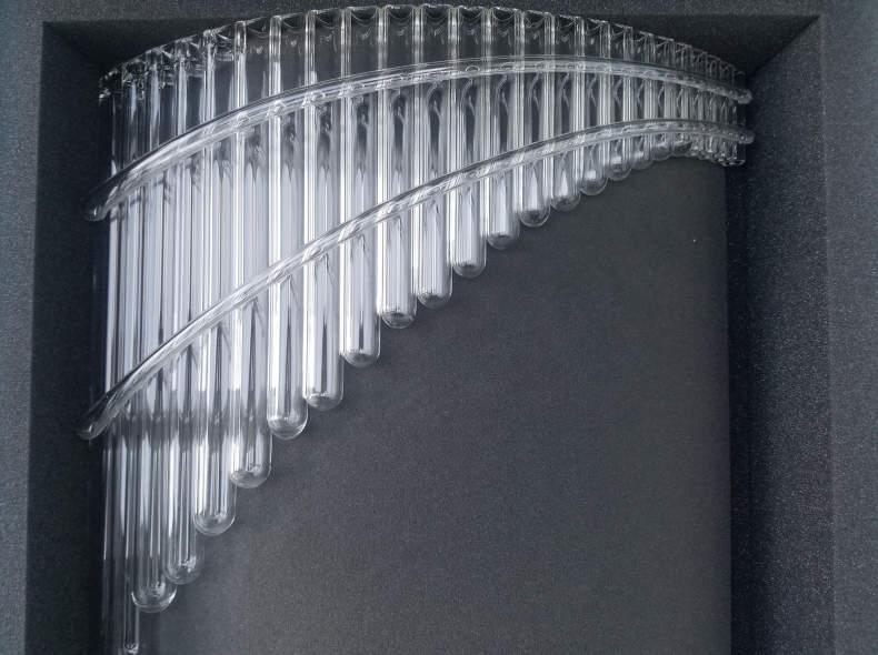 19153 Bass-Panflöte aus Glas