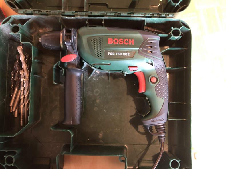 19286 Schlagbohrmaschine Bosch PSB 750 RC