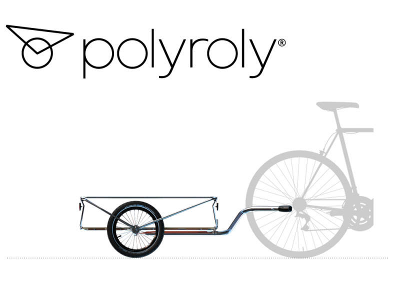19335 Veloanhänger - polyroly COLLI