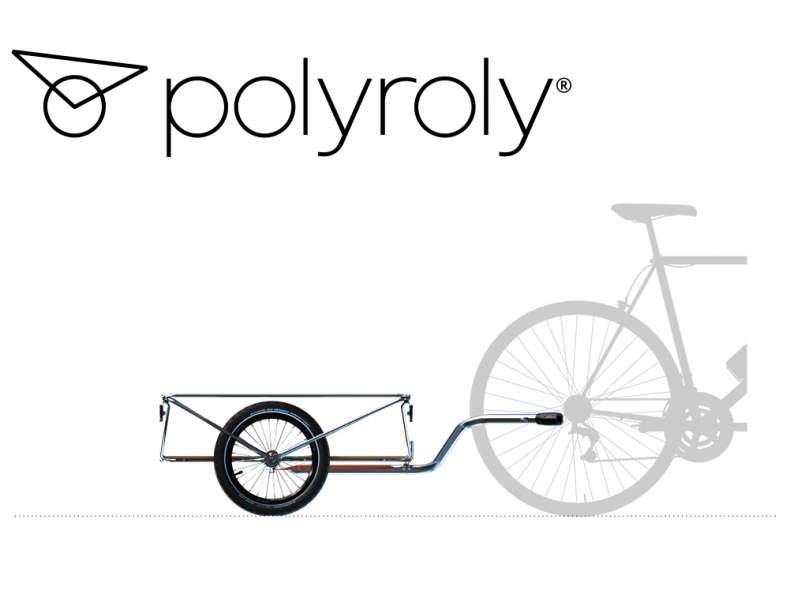 19336 Veloanhänger - polyroly CARGO