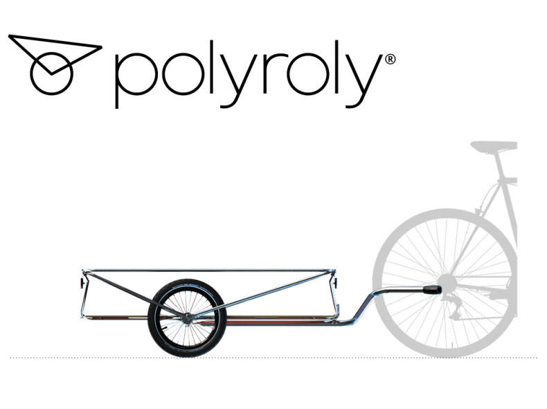 18334 Veloanhänger - polyroly CONTAINER