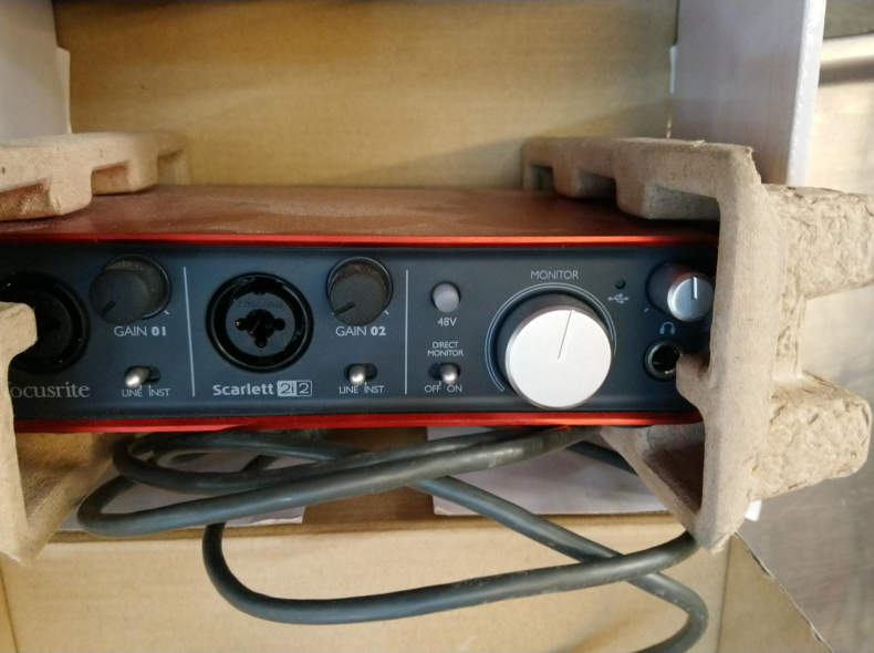 19359 USB Soundcard Scarlett 2+2
