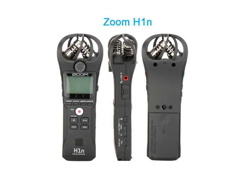 19417 Zoom H1n Portable Recorder Meeting