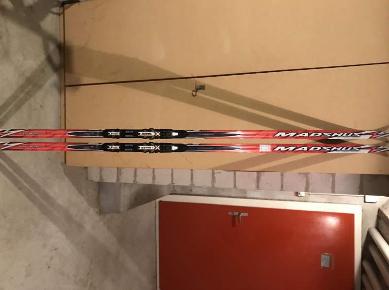 19623 Madshus Naonosonic Classic Ski 205