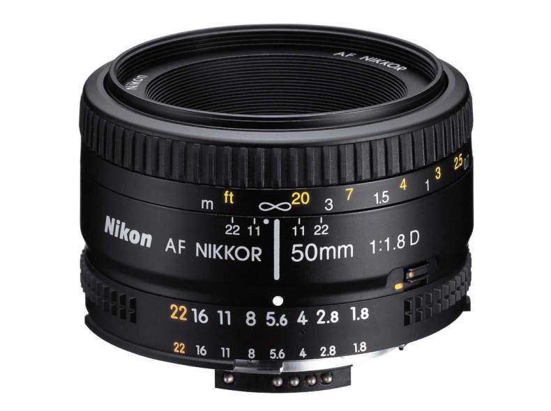 19714 Nikon 50mm 1.8D