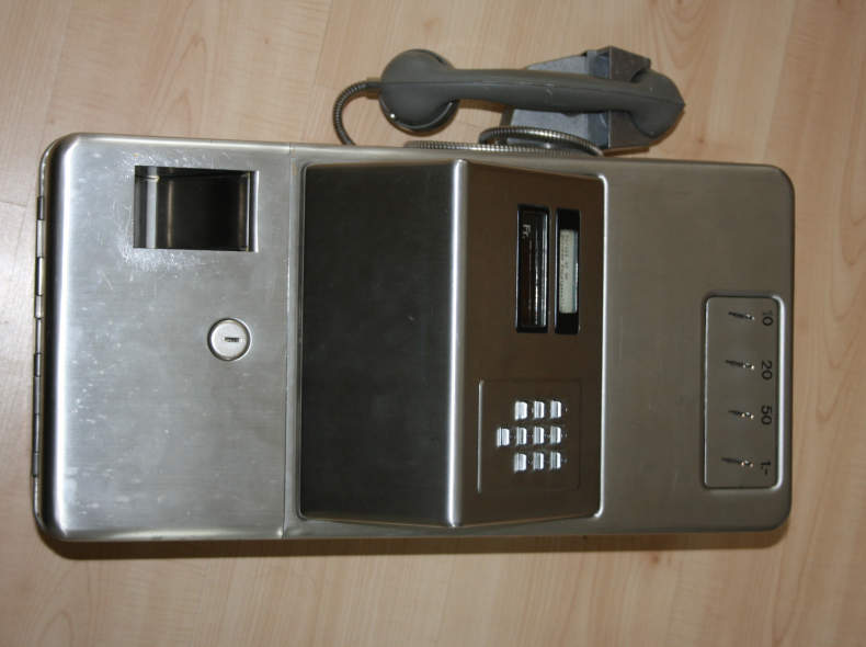 19785 Münztelefon Kassierstation AZ 44