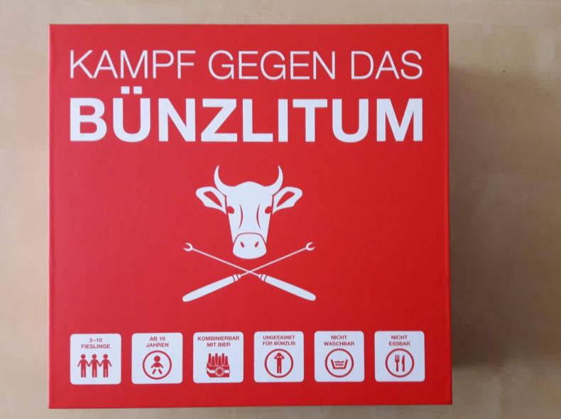 """19802 Spiel """"Kampf gegen das Bünzlitum"""""""