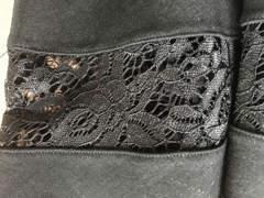 19868 schwarzes Kleid mit Spitze (XS)