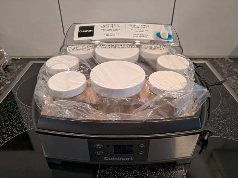19963 Joghurt- und Frischkäse Maker Plus