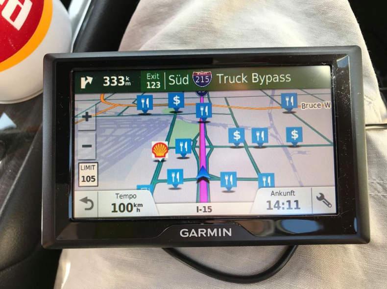 20002 USA-GPS Gerät Garmin Drive 51