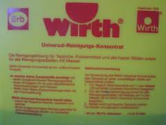 20064 Teppichshampooniergerät Wirth
