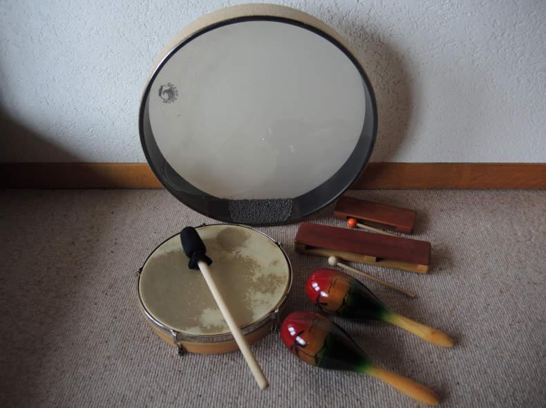 20102 Ocean Drum und Rhythmusinstrumente