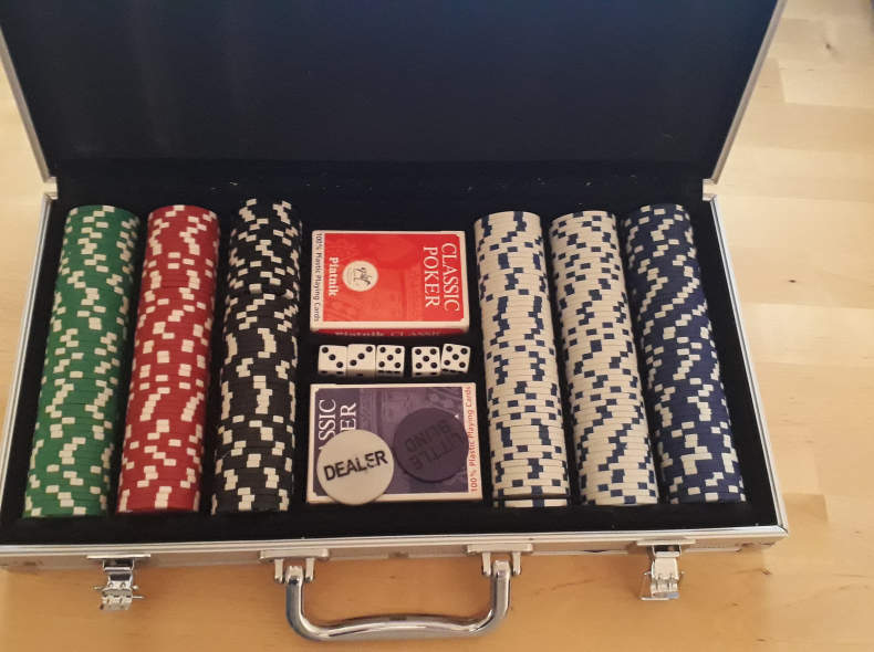 20138 Poker Set / Poker Koffer