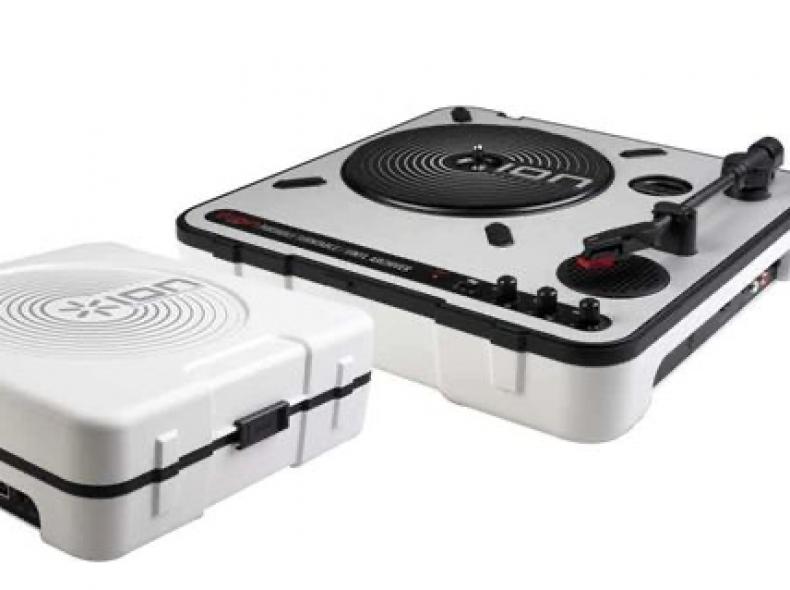 20156 Mobiler Schallplattenspieler USB