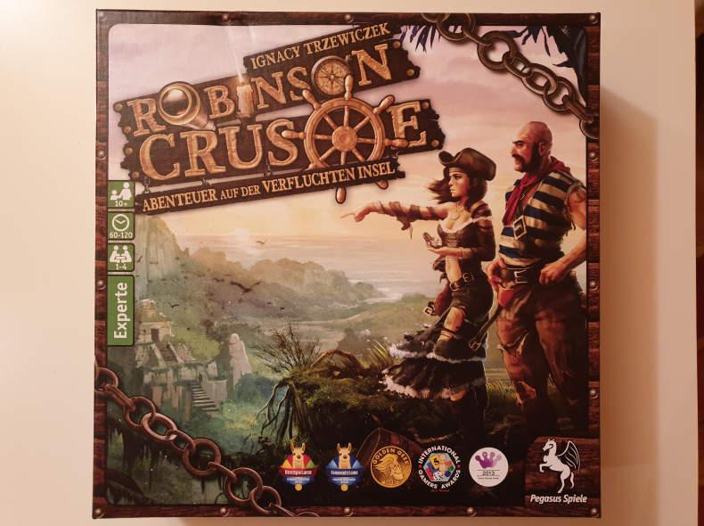 20201 Robinson Crusoe Brettspiel