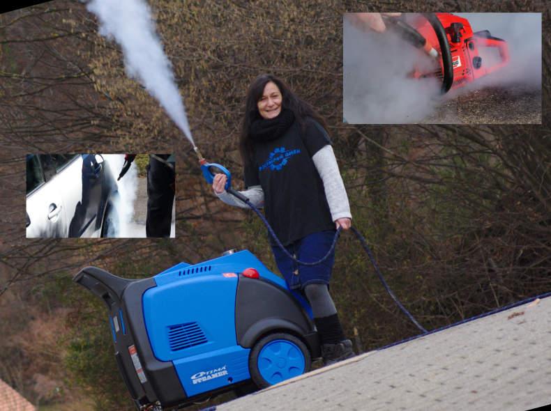 20327 Optima Steamer DMF Dampfreiniger