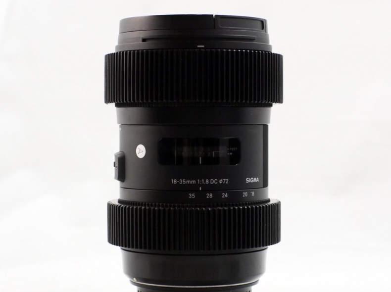 20355 Sigma 18-35 f/1.8 Gears (Canon EF)