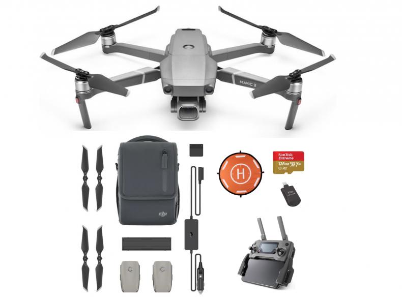 20406 Dji Mavic 2 Pro + Fly More Bundle