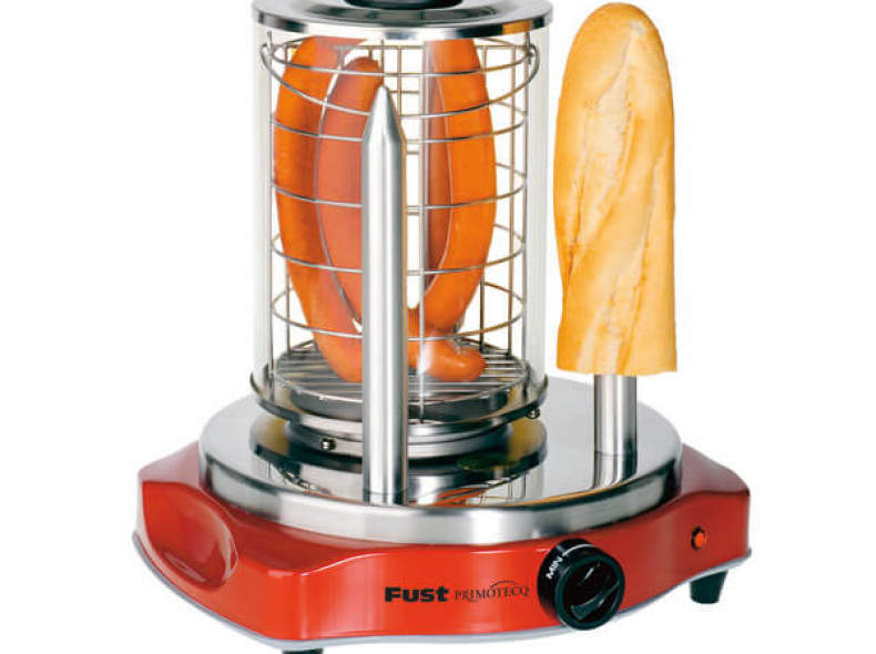 20420 Hot Dog-Gerät mit zwei Spiessen
