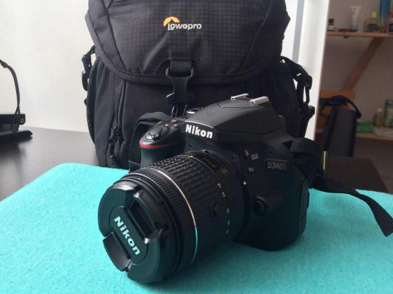 20445 Nikon D3400 Spiegelreflex Kamera