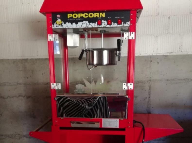 20661 Profi- Popcornmaschine mit Wagen