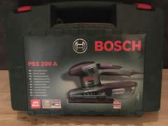 20720 Bosch PSS 200 A Schwingschleifer