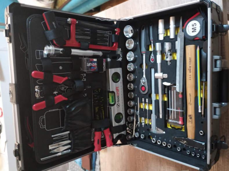 20732 Toolcraft Profi Werkzeug Koffer
