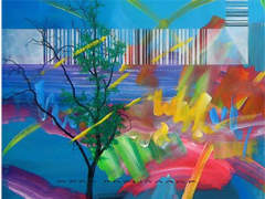 20830 Kunst Bild Acryl