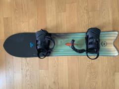 20906 Powder Snowboard - 145cm (2017)