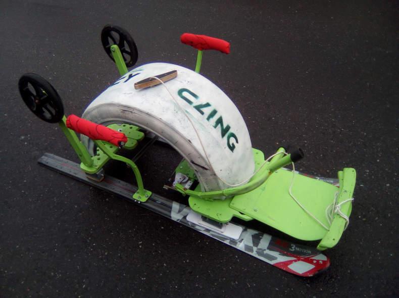 20924 Skirecycling-Carvingschlitten extra