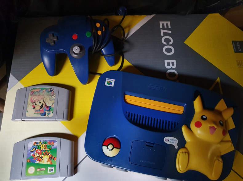 21051 Nintendo 64 N64 inkl. Mario