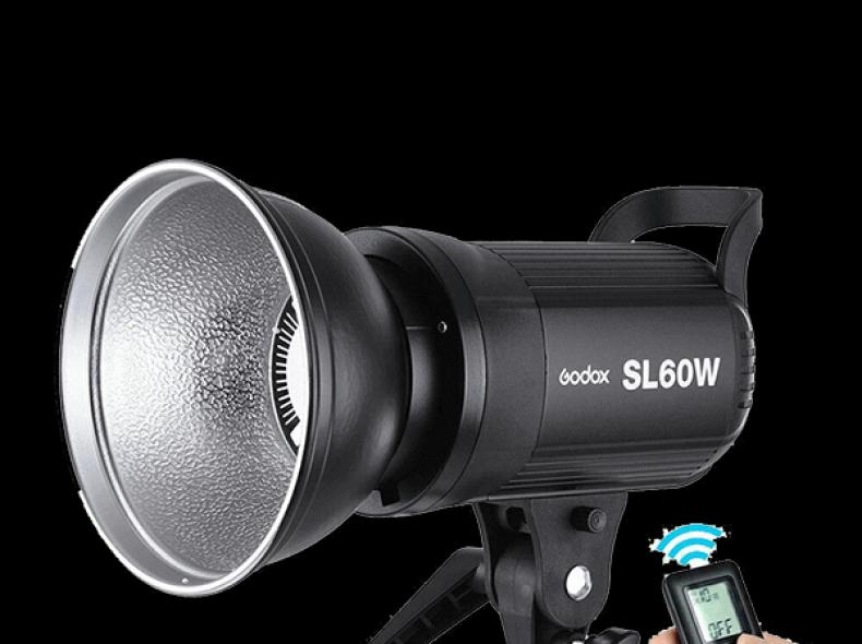 21130 Godox SL60W Dauerlicht + Light Dome