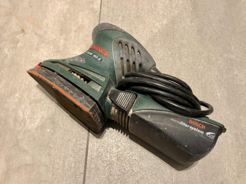 21236 BOSCH PSM 160A, Schleifmaschine