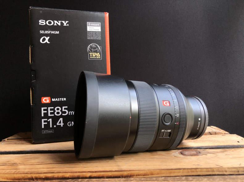 21290 Sony FE 85mm f1.4 GM Objektiv