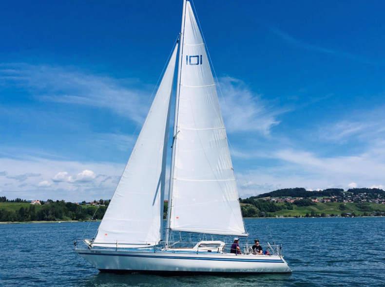 21314 Segeln mit Skipper ab Murten