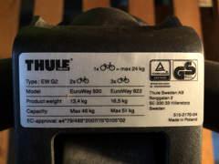 21337 Fahrradträger für Anhängerkupplung