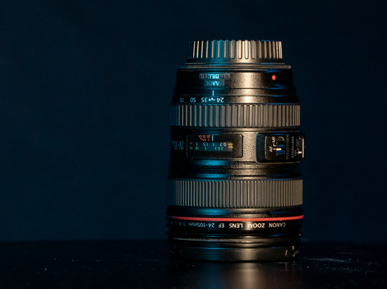 7687 Canon EF 24-105mm L F4 Lens
