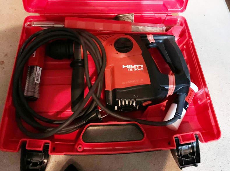 21556 Hilti TE30 SDS Bohrhammer