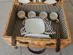 21625 Picknick-Korb mit Geschirr