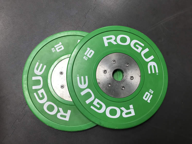 21659 Pair of big plates