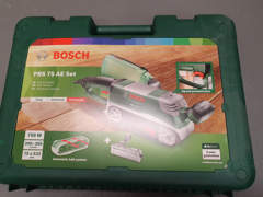 21891 Bandschleifer Bosch PBS 75 AE Set