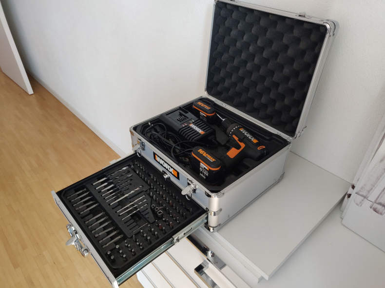 21902 WORX Akku Schrauber WA3529 Set