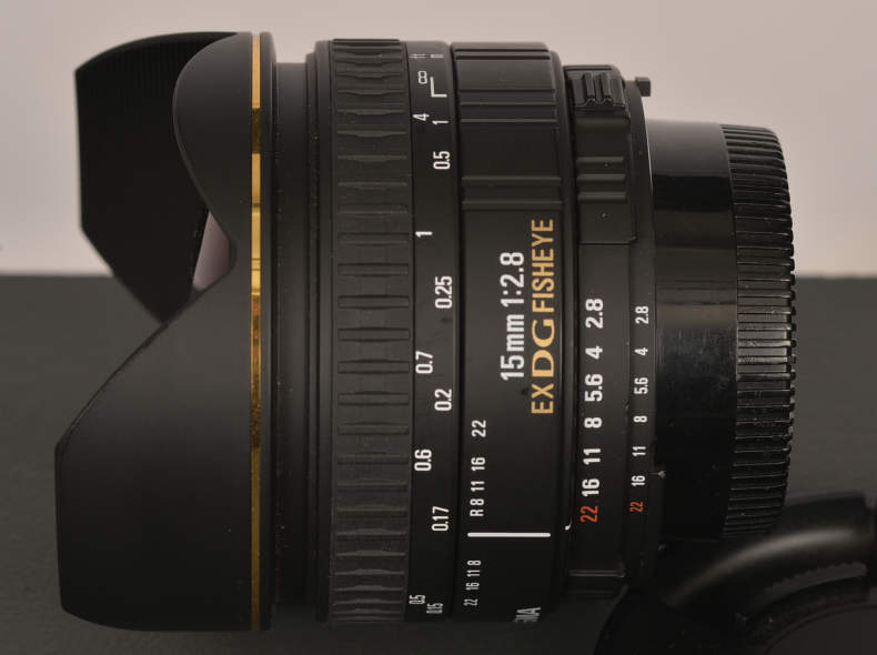 21988 Objektiv Fisheye 15mm für Nikon