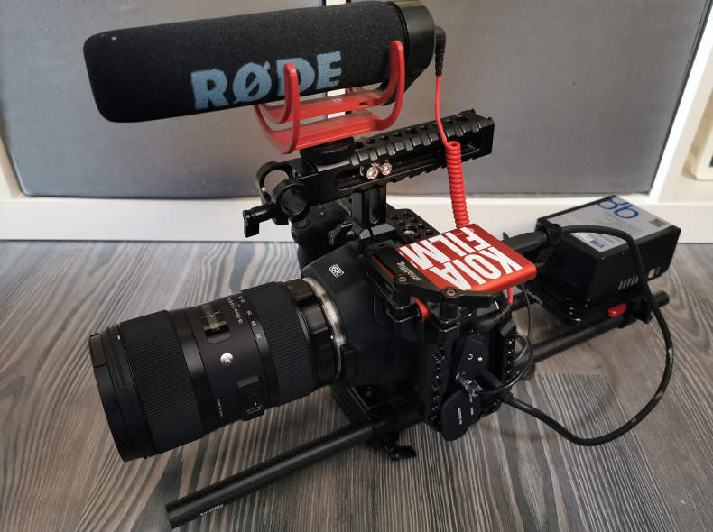 22026 BMPCC 6K Ready to shoot Set